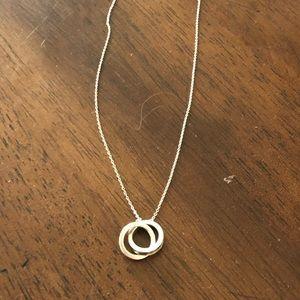Tiffany & Co. Jewelry - Tiffany & Co Interlocking Circle Necklace
